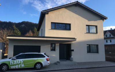 Hausübergabe in Götzis