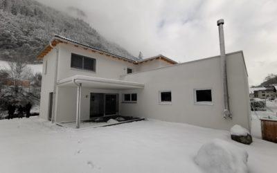 Hausübergabe in Klostertal