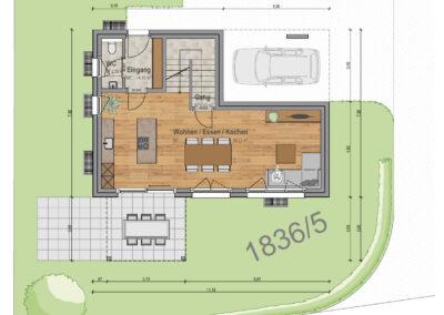 VP 03 Erdgeschoss Haus 1