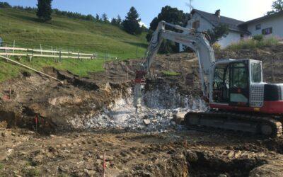 Baustart in Feldkirch